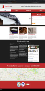 Building trade website template