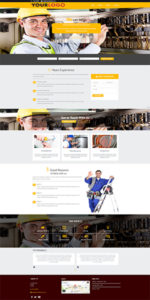 Electrician Business Website Template