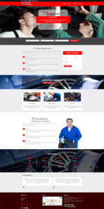 Garage Website Template