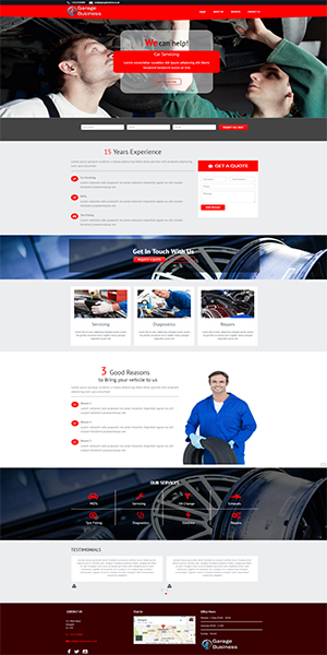 Home Services Website Template