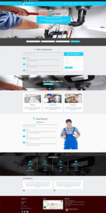 Plumbing Business Website Template