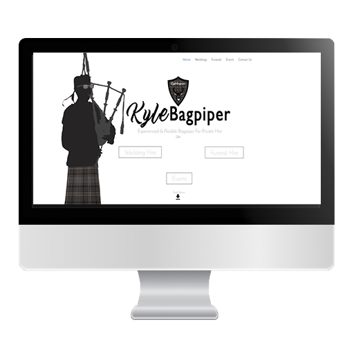 Kyle Bagpiper Glasgow