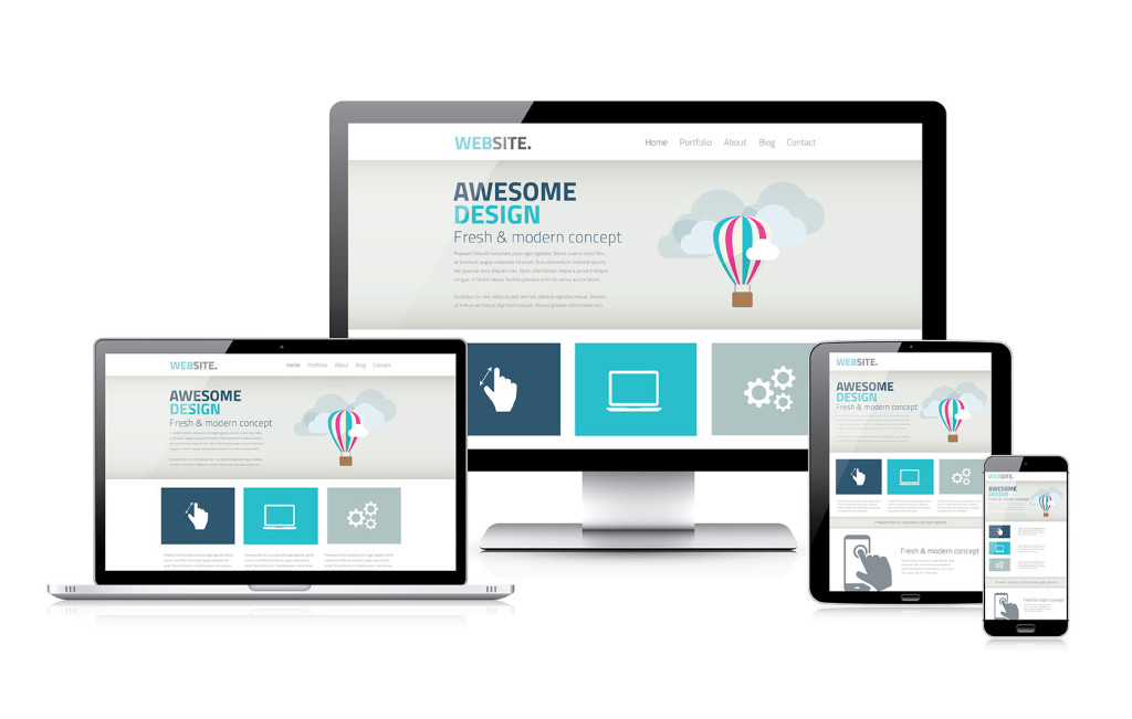 Stylish responsive web design